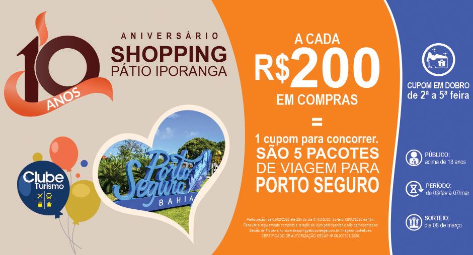10 Anos Shopping Pátio Iporanga